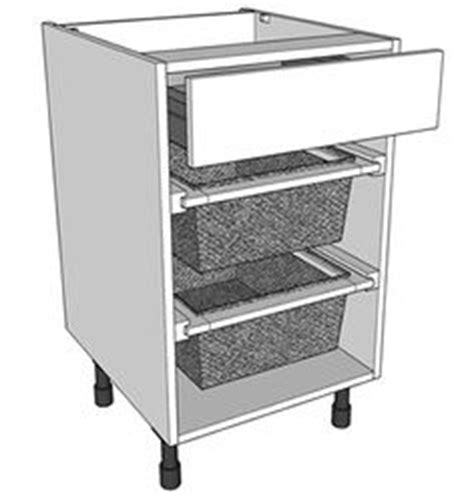 kukoo 4 x kitchen pull out baskets 500mm wide cabinet soft close wire storage metal drawers 1000 images about pull out storage units on pinterest