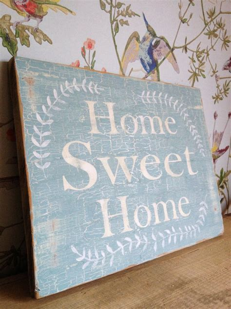 home sweet home sign kitchen decor wall word by