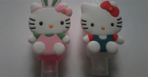 Ring Stand Karakter Hellokitty Dan Doraemon pocketbac holder sanitizer karakter hello 3d