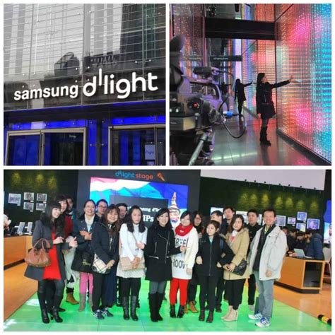 เย ยมชม samsung d light เม องเทคโนโลย จากซ มซ ง