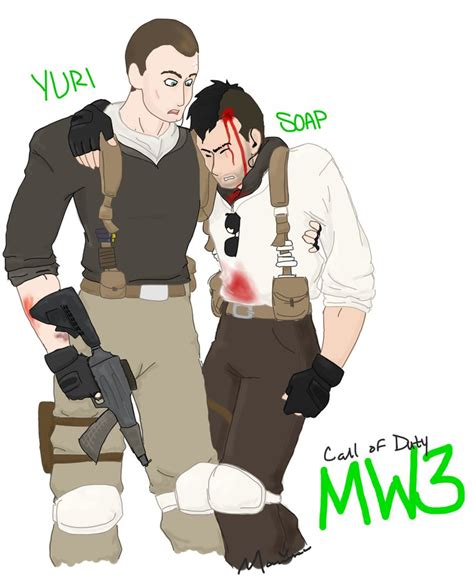 Yuri Soap 3 7 Liter mw3 yuri and soap by jack5on on deviantart