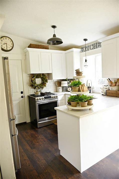Farmhouse Kitchen Makeover Farmhouse Kitchen Light