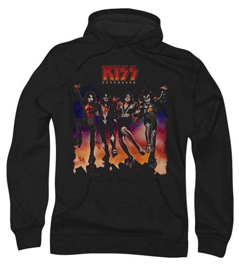 Hoodie Rock rock band hoodie sweatshirt destroyer cover black hoody destroyer cover shirts