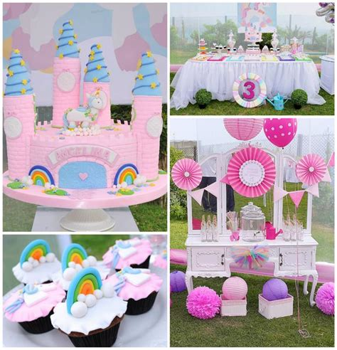 unicorn themed birthday party kara s party ideas rainbows and unicorns party planning
