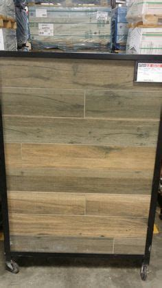 Soft Greige Wood Plank Porcelain Tile   6in. x 40in