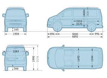 volkswagen caravelle dimensions the 25 best vw transporter dimensions ideas on pinterest