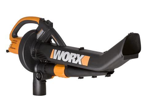 vacuum blower wg500 2 worx trivac 3 in 1 leaf blower mulcher vacuum ebay