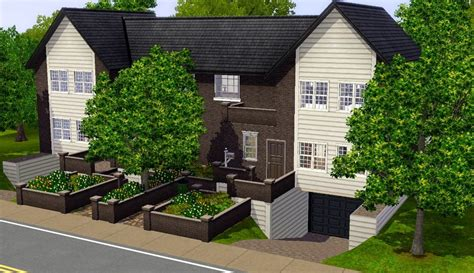 Detached Garage Design mod the sims little ash lane no cc