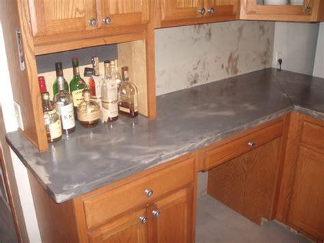 Concrete Countertop Backsplash Concrete Countertop And Backsplash Contemporary