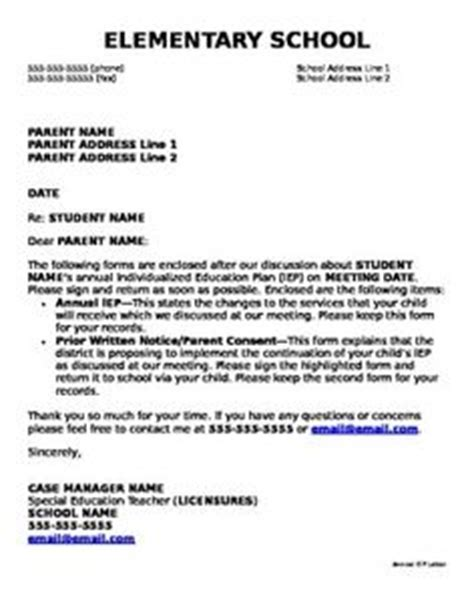 Iep Evaluation Letter 1000 Images About Special Education Resources On Special Education Data Collection