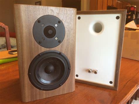 fs finished bookshelf speakers and yamaha diyaudio
