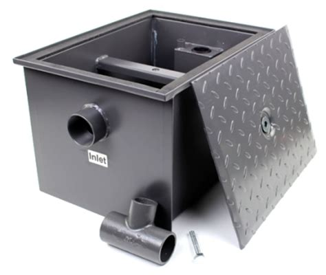 kitchen grease trap grease traps interceptors commercial commercial grease trap interceptor 40 lb 20 gpm