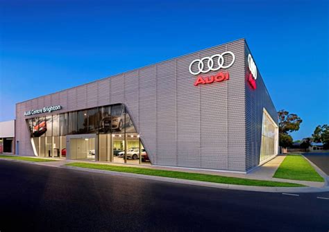 audi dealership design audi centre brighton opens in australia autoevolution
