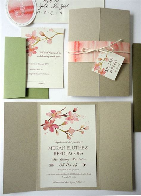 Wedding Invitation Sets by 50 Best Eco Friendly Wedding Invitations Images On