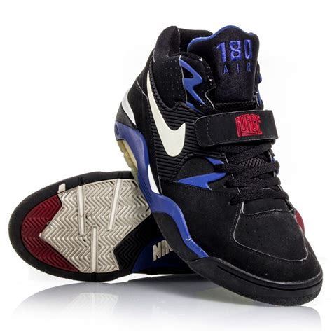 mens basketball boots nike air 180 mens basketball shoes black white