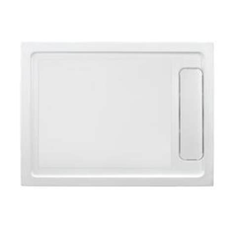 Ove Shower Base by Shop Ove Decors White Acrylic Shower Base Common 32 In W X 48 In L Actual 32 In W X 48 In L