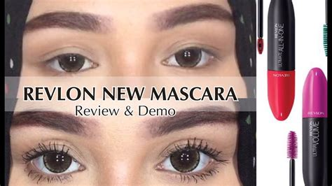 Revlon Indonesia revlon new mascara review demo bahasa indonesia