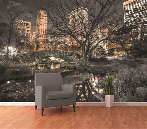 photo wall murals wallpaper central park wall murals store