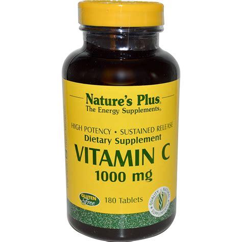 Vitamin Natur E nature s plus vitamin c 1000 mg 180 tablets iherb