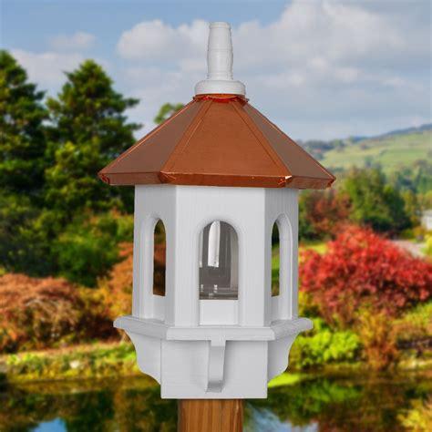 bird feeder copper bird feeders large bird feeder gazebo