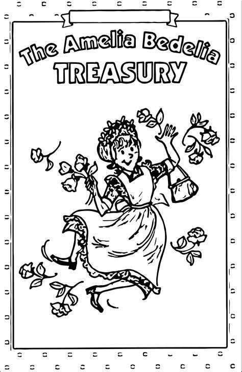 amelia bedelia coloring pages images amelia bedelia treasury coloring page wecoloringpage