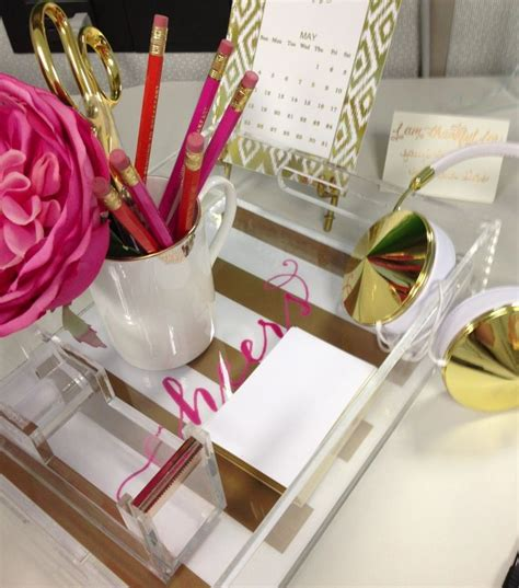 pink and gold desk accessories 25 best ideas about office desk accessories on