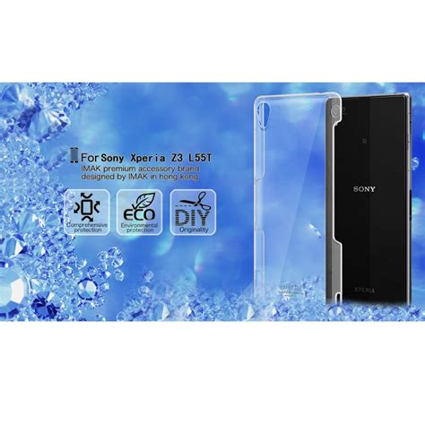 Backcase Sony Experia Z Ultra Imak Soft Crytal Clear imak 1 ultra thin for sony xperia z3
