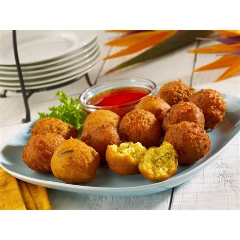 sweet hush puppies jalape 241 o hush puppies with sweet chipotle sauce food