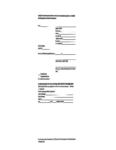 Marital Settlement Agreement For Simplified Dissolution Of Marriage Missouri Free Download Marriage Dissolution Agreement Template
