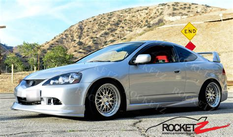 jdm acura rsx 2002 2006 acura rsx jdm mugen style side skirts 03 04 05