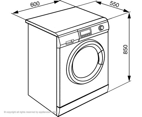 Clothes Dryer Sizes Find Out From The Washing Machine Website Find Out From