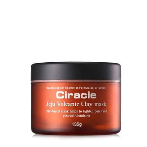 The Shop Jeju Volcanic Lave Pore Toner ciracle jeju volcanic clay mask 135g cosmetic