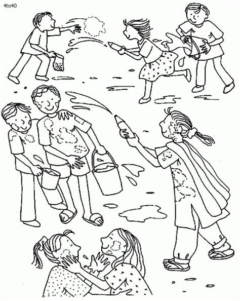 Holi Pictures For To Draw