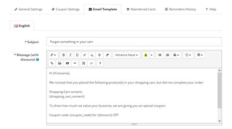 Abandoned Cart Reminder Pro Abandoned Checkout Email Template
