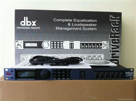 Dbx Driverack 260 1 dbx driverack 260 speaker management 4a rate 1 1 dbx 260 dbx china manufacturer audio