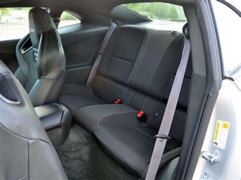 image gallery rear seat 2016 camero