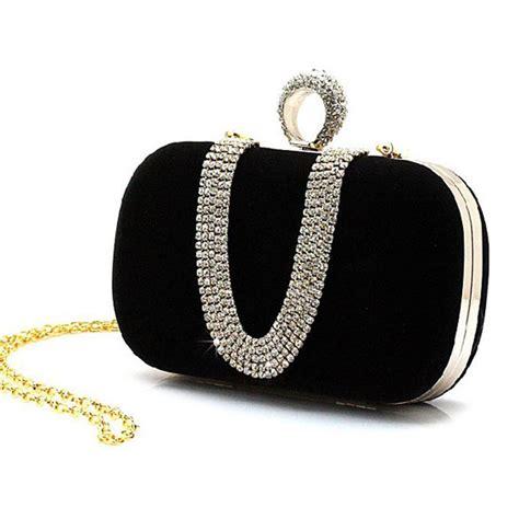 Clutch With Pearl 11 1 E1 1 rhinestone clutch handbag ring shoulder chain handbag bridal wedding bag bolsa mujer