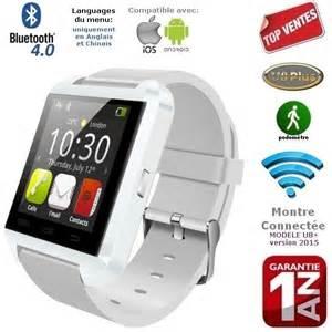 Montre connect 233 e u8 blanc bluetooth iphone samsun achat vente