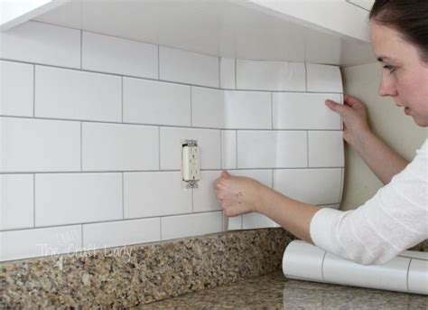 removable tile backsplash removable backsplash rental solutions 11 ideas for a