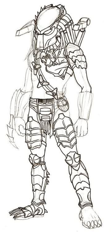 predator 2 coloring page coloring pages