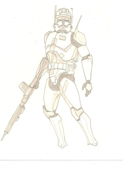 Commander Coloring Pages commander by stipher30 on deviantart
