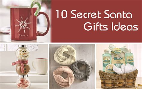 gifts for your secret 10 secret santa gifts ideas