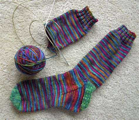 socks knitted knitting socks