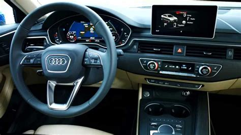 audi a4 2016 interior all new 2016 audi a4 sedan interior youtube