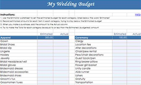 Wedding Budget Spreadsheet by Wedding Budget Worksheet Sri Lanka Laobingkaisuo