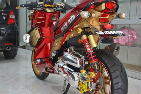 Shock X Ride modifikasi x ride konsep iron 7 xyi banyumas region