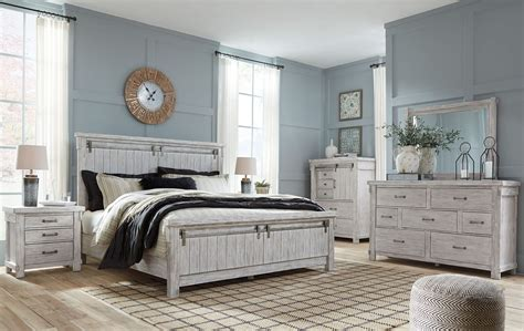 white bedroom set king brashland white panel bedroom set from ashley coleman 17820 | b740 31 36 46 58 56 97 93 q752 4