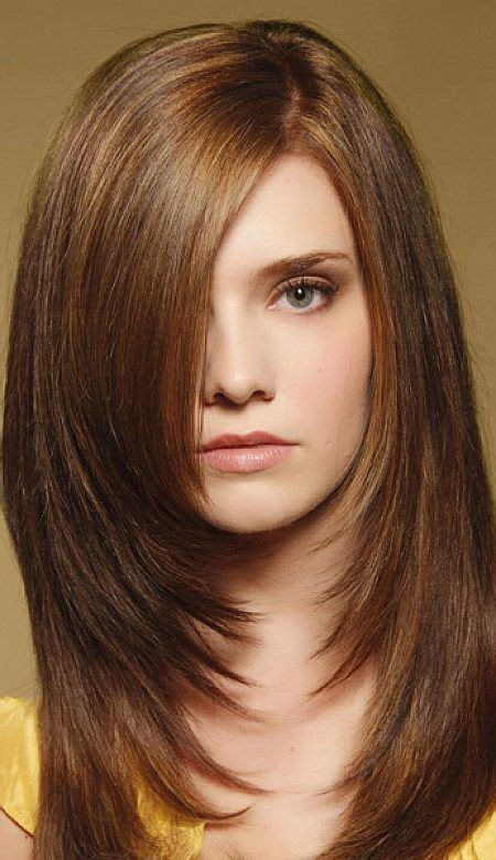 hairstyle feathered away from face layered hair that pulls away from face 30 best images