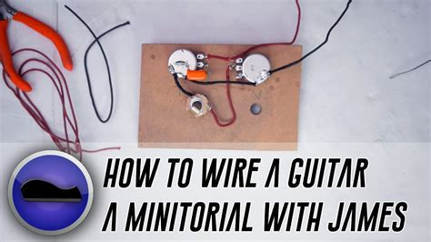 how to wire a guitar