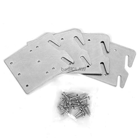 bed claw hook plates bed claw retro hook plates for wooden bed rail restoration